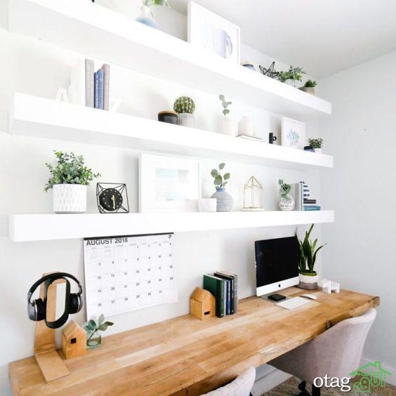 معرفی بهترین ایده های دکور دفتر کار خانگی در سال 2020