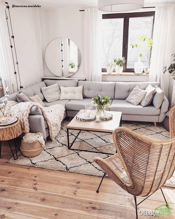 طراحی داخلی روستیک برای خانه شما، ترند سال 2020