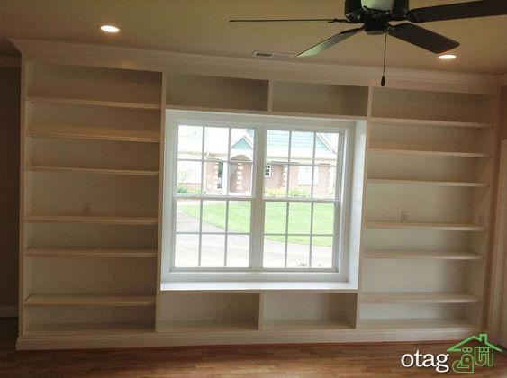 مدل های جدید کتابخانه و باکس زیر پنجره با طراحی هوشمندانه