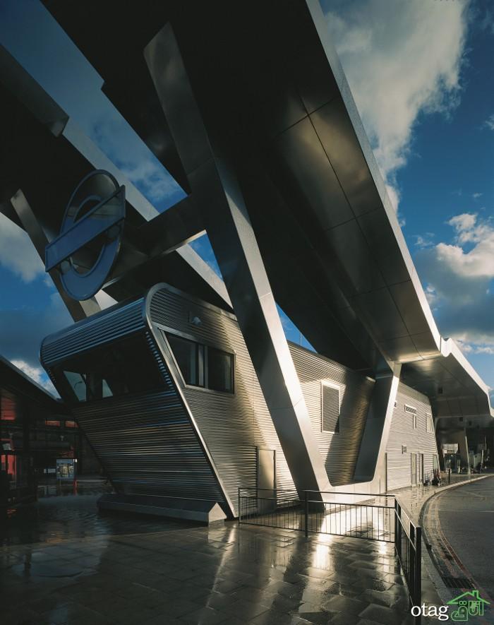 ایده های جالب طراحی ایستگاه اتوبوس در مناطق مختلف دنیا