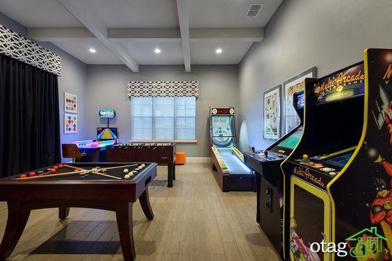 30 مدل جدید طراحی اتاق بازی مناسب نوجوانان و بزرگسالان