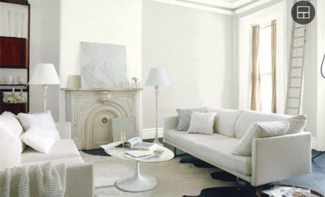 بهترین مدل های رنگ سفید دکوراسیون داخلی با اسامی کامل + عکس