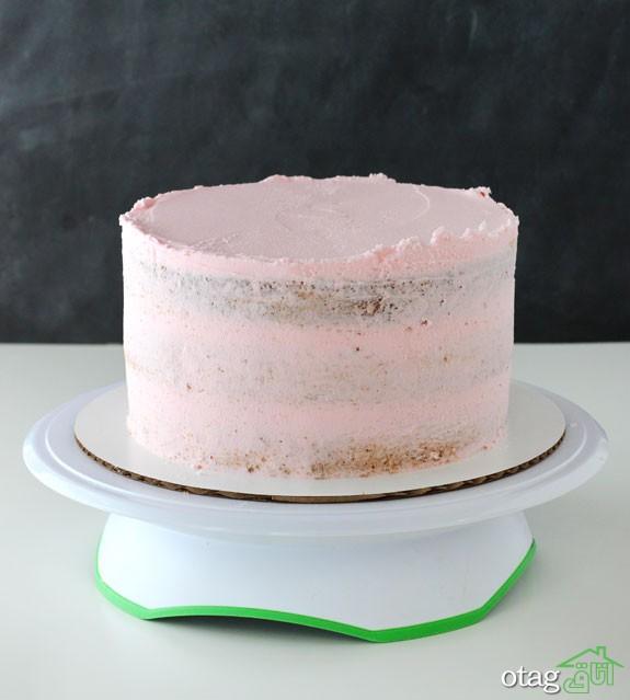طرز تهیه کیک تولد خامه ای در خانه حرفه ای اما ساده!