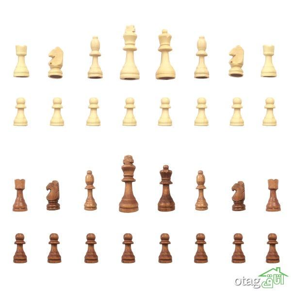 خرید اینترنتی 41 مدل شطرنج و مهره درجه یک