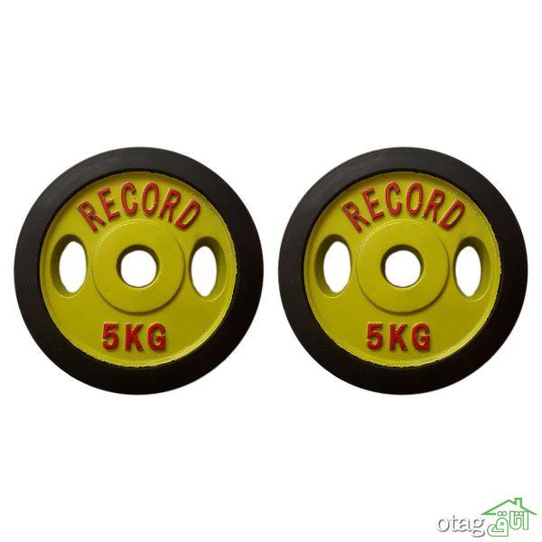 لیست قیمت 40 مدل وزنه هالتر در وزن های مختلف