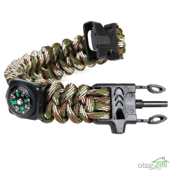 لیست قیمت 30 مدل دستبند پاراکورد و نجات + خرید