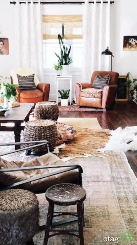 طراحی بخش های خانه با سبک شبی شیک