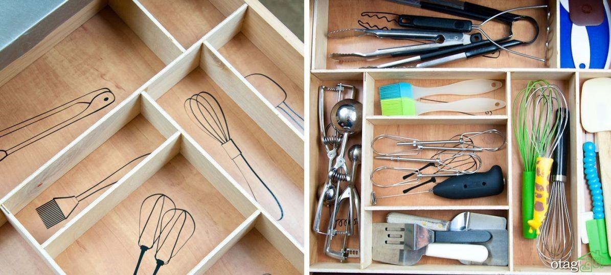 محبوب ترین سازمان دهنده کشوهای آشپزخانه