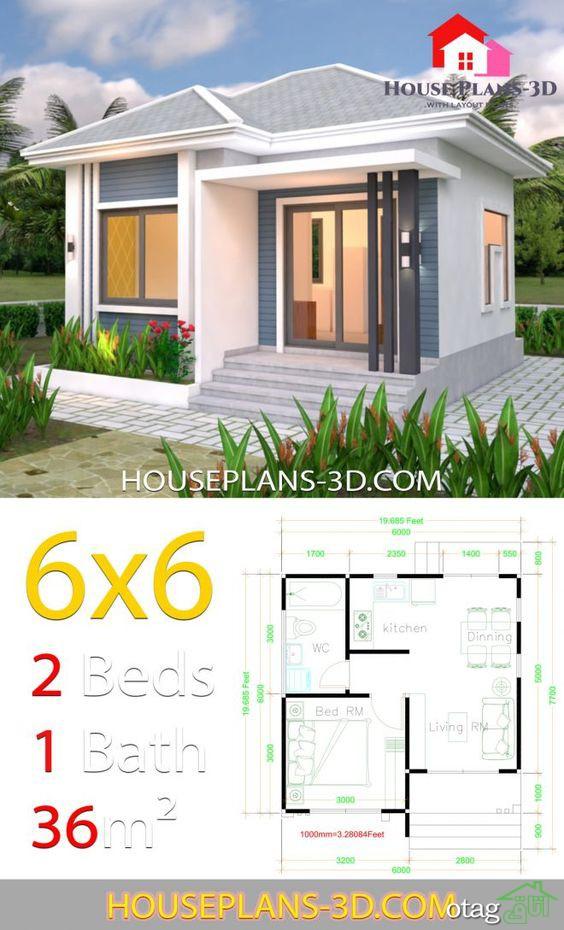 مدل نقشه خانه ویلایی 40 متری دوبلکس بهمراه نمای ساختمان