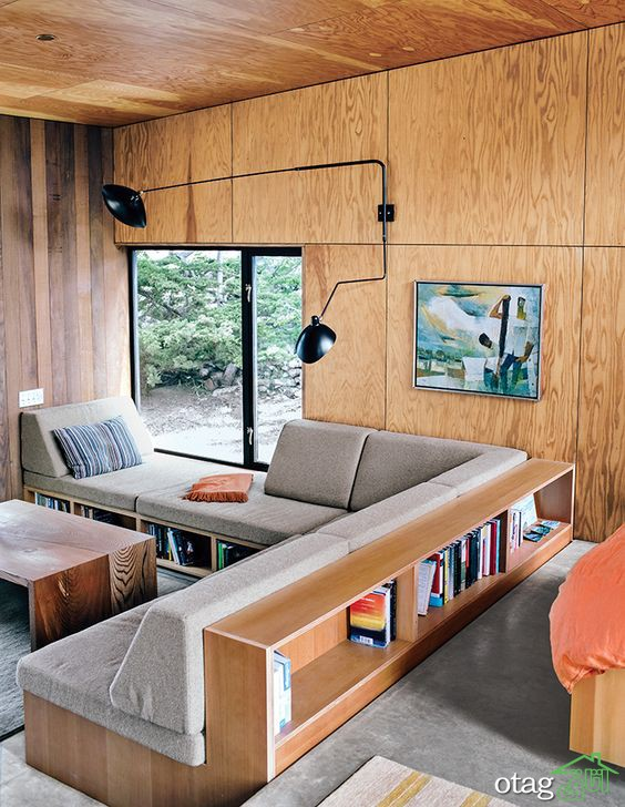 مبلمان دو منظوره مناسب برای فضاهای کوچک