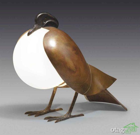 مدل چراغ رومیزی به شکل حیوانات مناسب دکورهای جذاب و مدرن