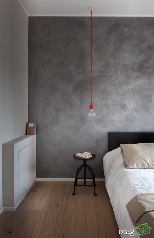 طرح نقاشی اتاق خواب با شکل های جذاب مناسب اتاق بزرگسالان