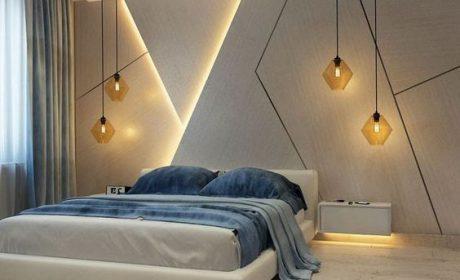مدل های جدید دیوارپوش بتنی دکوراتیو برای اتاق خواب + 30 عکس