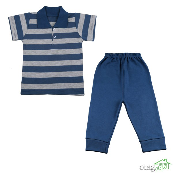 42 مدل لباس نوزادی پسرانه شیک و با کیفیت + خرید