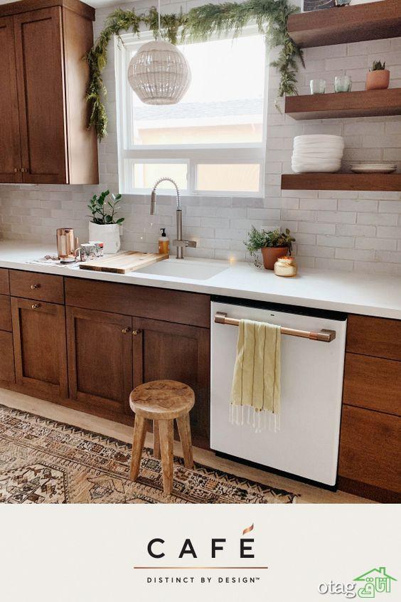 نکاتی در مورد انواع چیدمان و لایه بندی آشپزخانه