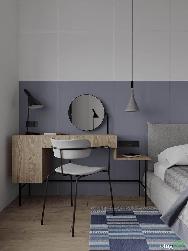 پلان خانه 46 متری / بررسی سه آپارتمان با چیدمان مدرن و ساده