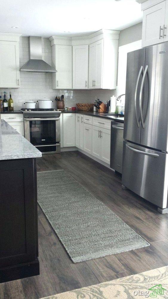 30 مدل چیدمان آشپزخانه ال شکل با طراحی کاربردی و اصولی
