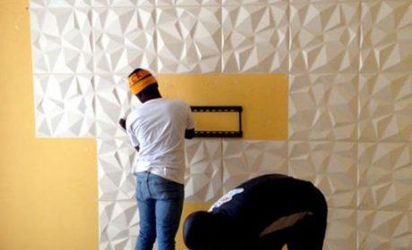 طرح دیوارکوب تزیینی منزل در انواع چوبی، بتنی و فایبرگلاس