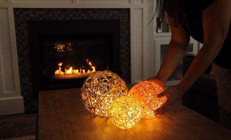 آموزش ساخت چراغ خواب با کاموا با وسایل ساده و بسیار کم هزینه