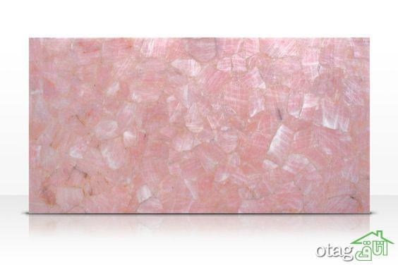 خواص سنگ رز کوارتز صورتی و نحوه استفاده از آن در دکوراسیون