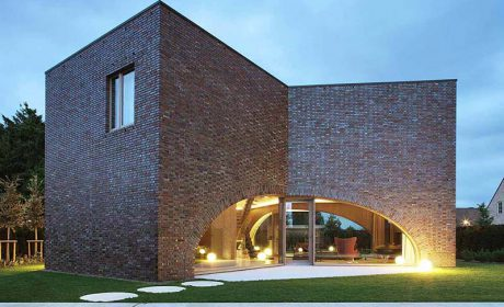 آشنایی با خانه آجری کوچک بسیار زیبا با متراژ 165 متر مربع