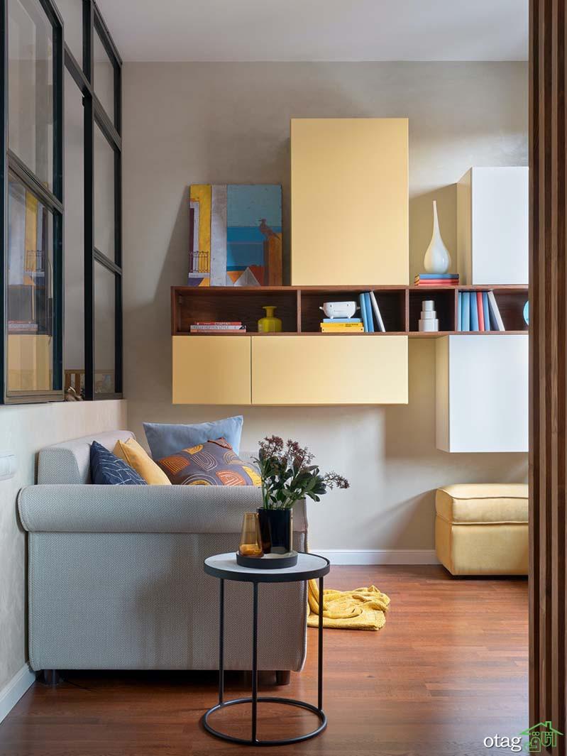 دیزاین خانه های لاکچری کوچک با طراحی مدرن و بسیار جذاب