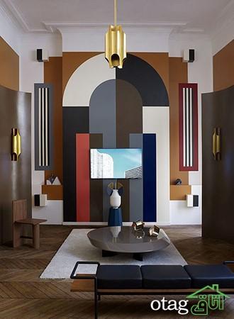 بهترین مدل های طراحی دیوار برای دیزاین خانه های آپارتمانی