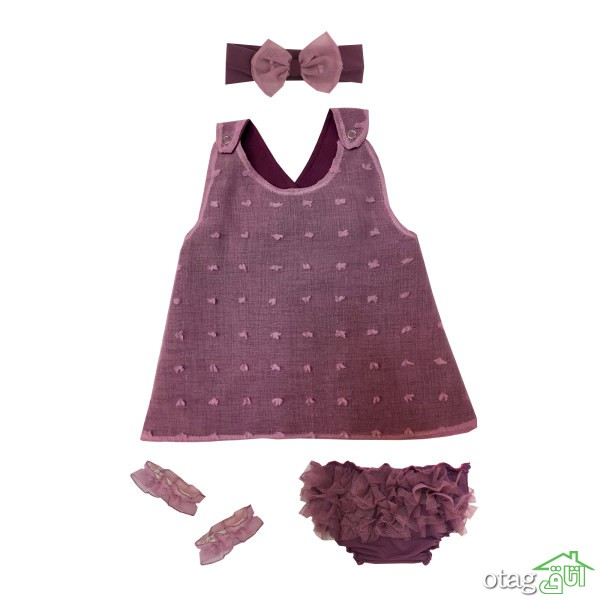 قیمت خرید 40 مدل بهترین لباس نوزادی دخترانه فانتزی