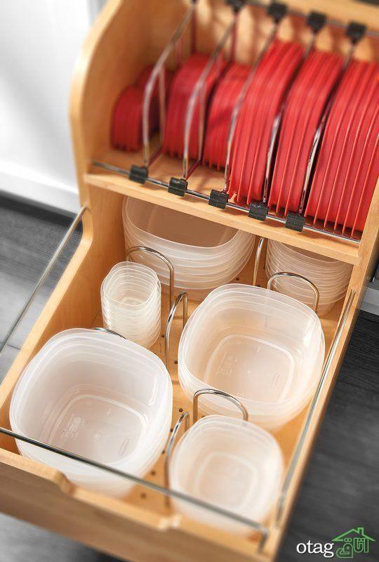 مرتب کننده کشو آشپزخانه؛ نیاز هر خانه ای