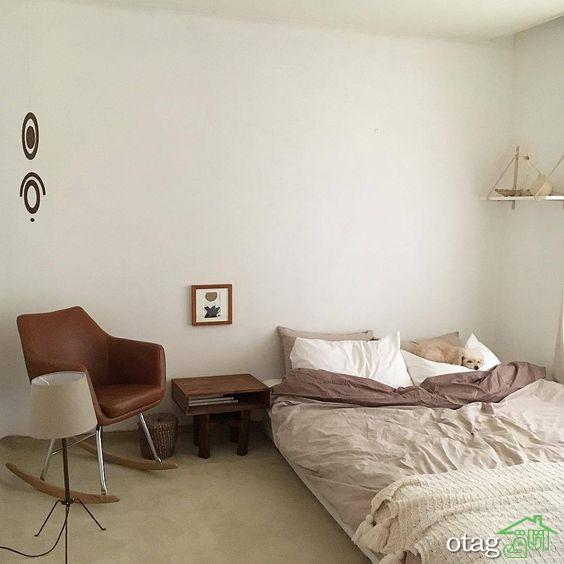 30 مدل تخت خواب بدون پایه با طراحی ساده و زیبا در سال جدید