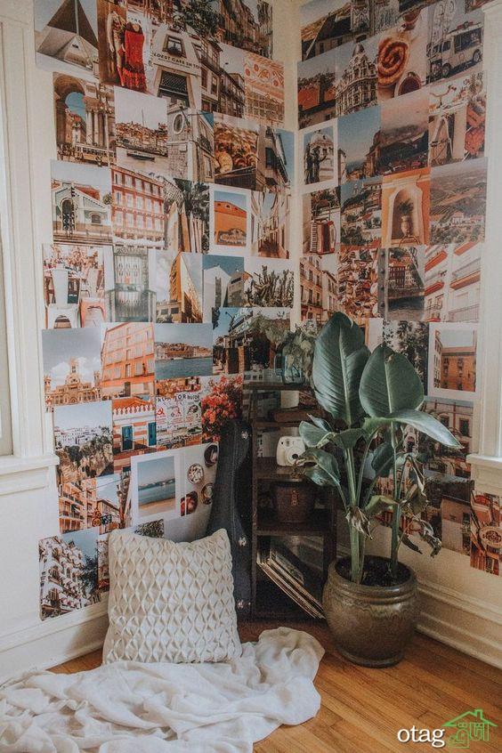 روش های تزیین و دکوراسیون دیوار پذیرایی و اتاق خواب
