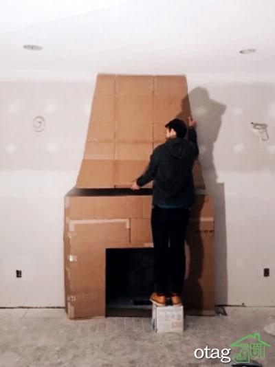 مدل های ساخت شومینه تزیینی با ایده های جالب، جذاب و ساده