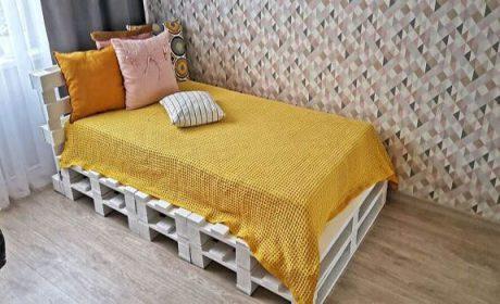 نحوه ساخت تخت خواب با پالت چوبی / آموزش کامل بهمراه عکس