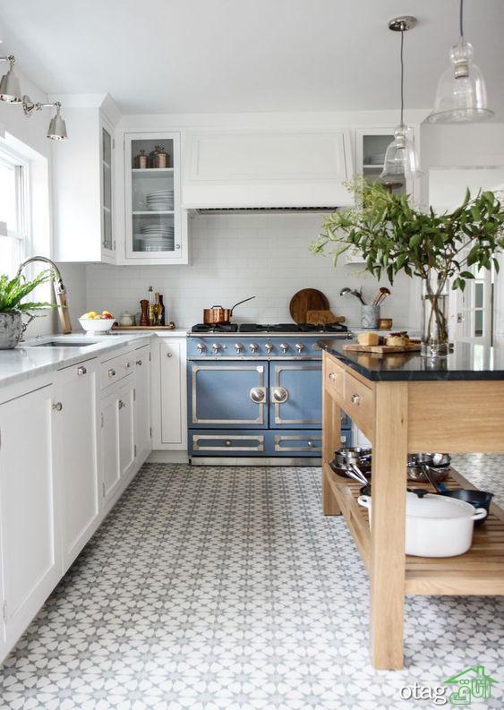 کفپوش وینیل در آشپزخانه با طرح های بسیار شیک + 30 مدل جذاب