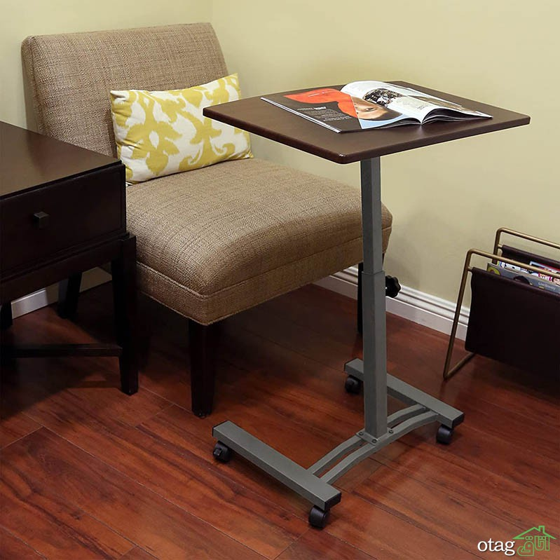 میز لپ تاپ ایستاده برای منزل، محیط اداره و کار + 9 مدل جذاب