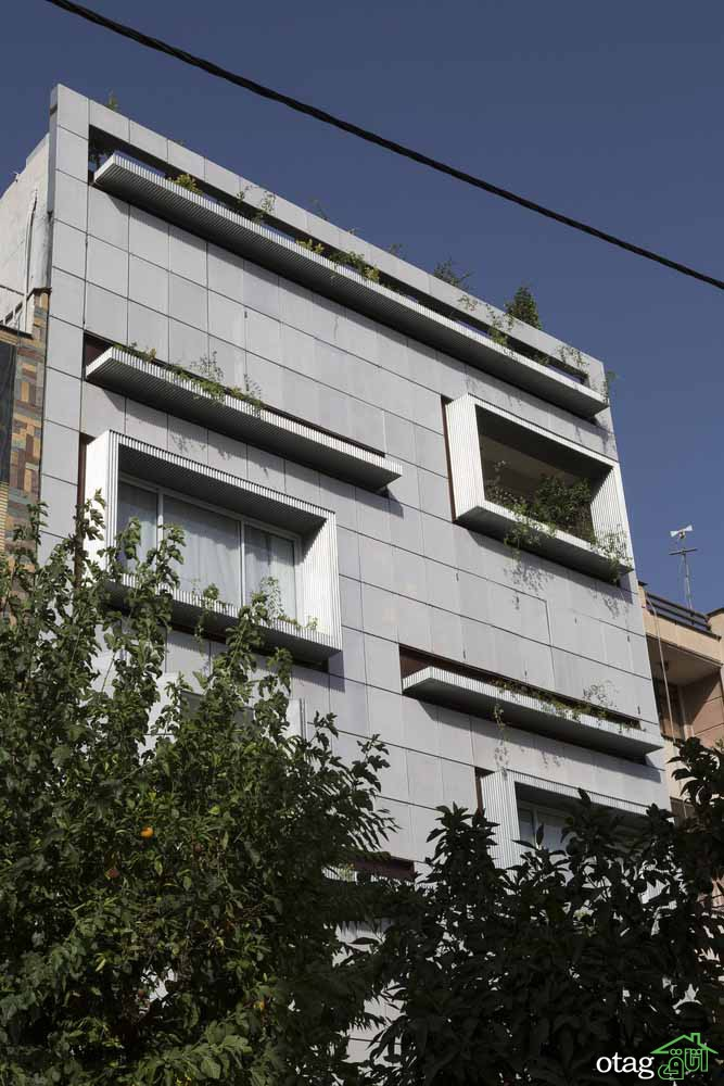 نمای خانه های مجلل در شیراز | بررسی چهار آپارتمان بسیار زیبا