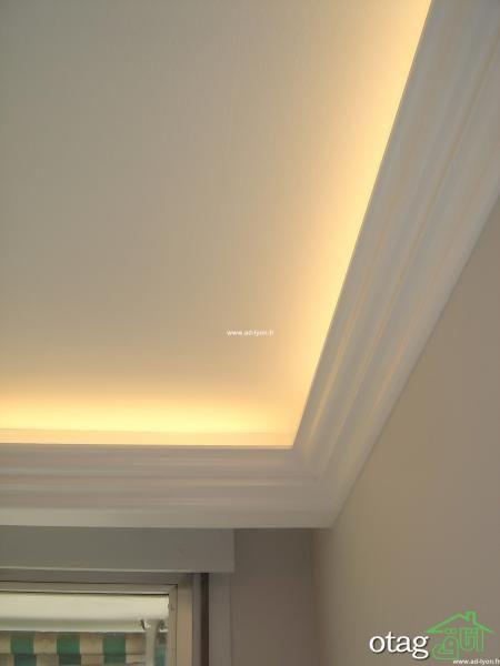ابزار پیش ساخته سقف در مدل های جدید گچی و چوبی + 34 مدل خاص