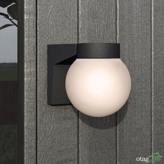 معرفی نمونه هایی از چراغ دیواری برای فضای خارجی