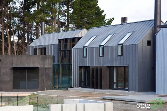 آشنایی با مواد بام فلزی مدرن ترندهای 2020