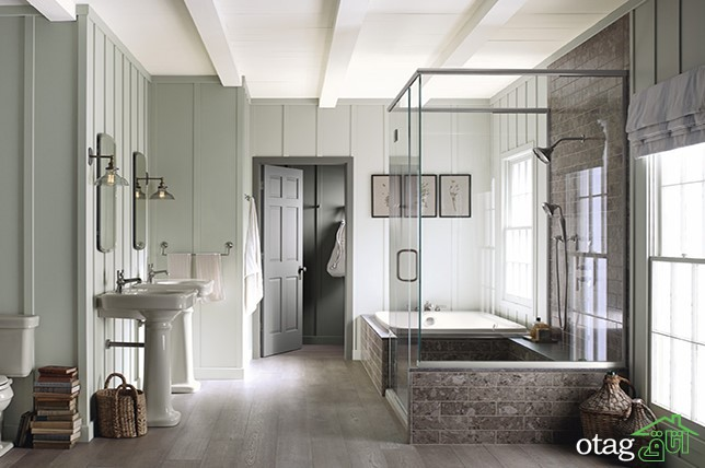 آشنایی با انتخاب رنگ حمام و تأثیرات روحی آن
