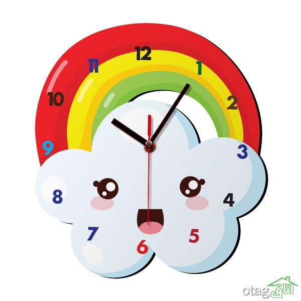 خرید 40 مدل ساعت اتاق کودک با قیمت مناسب + کیفیت عالی