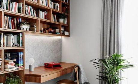 ایده های جدید و جذاب طراحی کتابخانه خانگی 2020
