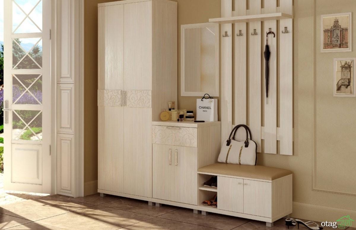 بهره گیری از کمد و جاکفشی مدرن در شیک تر جلوه دادن دیزاین منزل