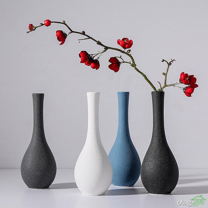 انواع گلدان مدرن و شیک برای دکوراسیون خانه های امروزی