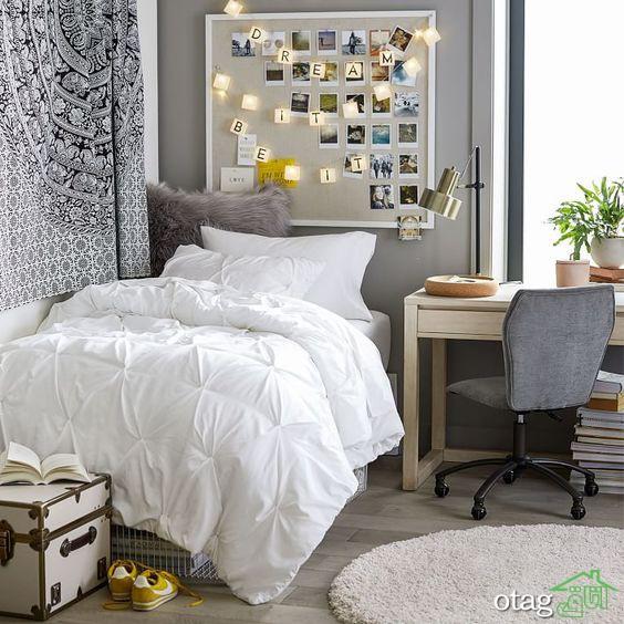 نکاتی که باید در مورد اتاق خواب شبی شیک بدانید