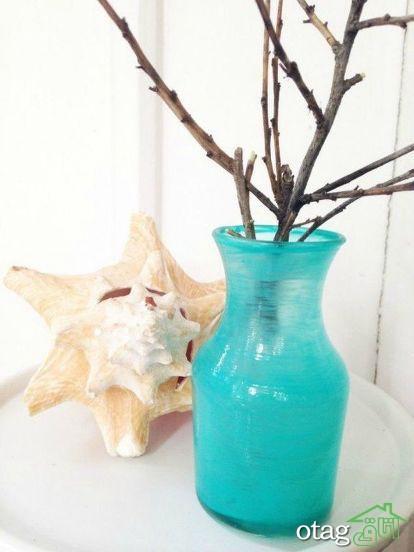 نمونه های گلدان شیشه ای جدید و زیبا مخصوص تغییر دکوراسیون خانه