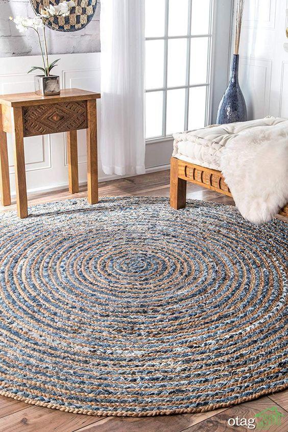 آشنایی با فرش گرد مخصوص دکوراسیون خانه های بزرگ و کوچک