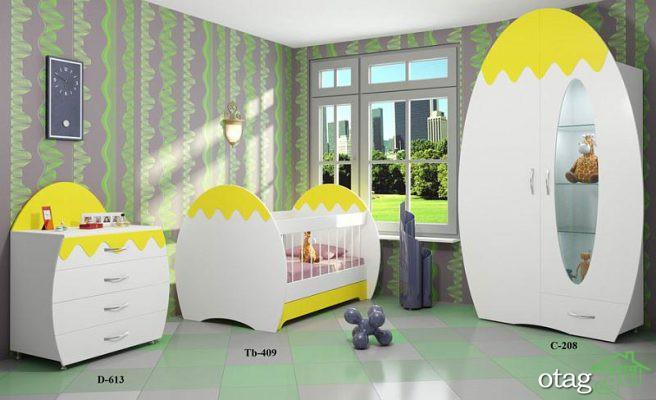 انتخاب سرویس خواب نوزاد شیک در طرح ها و مدل های جدید