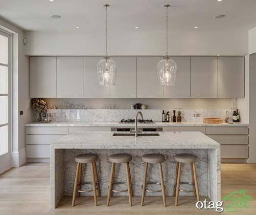 نمونه ها و طراحی های جذاب و دوست داشتنی اپن آشپزخانه