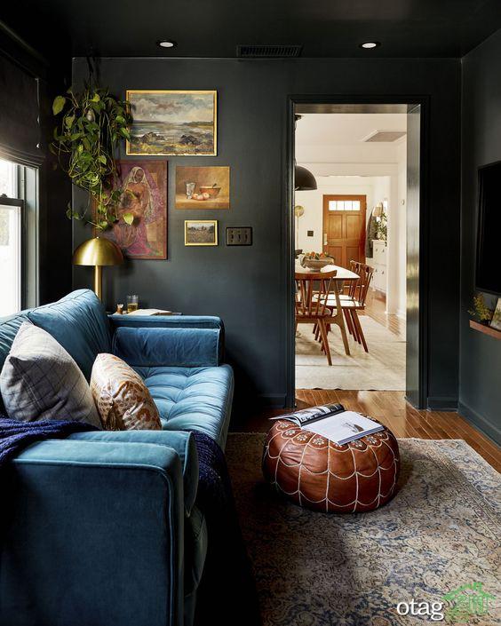 پدید آوردن فضایی دلنشین در دیزاین منزل با دکوراسیون تی وی روم